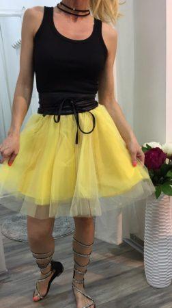 Rövid tüll szoknya-yellow