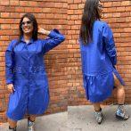 Stella Milani Close to You vászon ingruha-királykék
