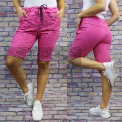 Detti elasztikus vászon térdnadrág-pink
