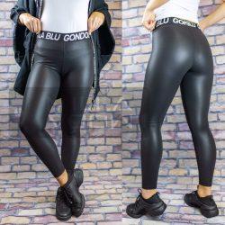 Gondola BLU gumis derekú elszatikus leggings-fekete 516