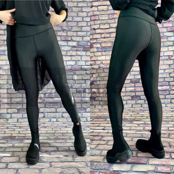 Extre bőrhatású leggings-fekete