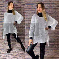 Lasting kötött pulóver-fehér