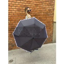 Romantic pöttyös autómata esernyő-fekete