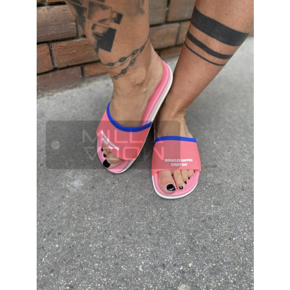 Mirackles papucs-pink